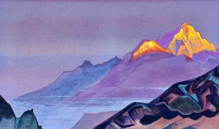 Path to Shambhala (Nicolas Roerich -1933)