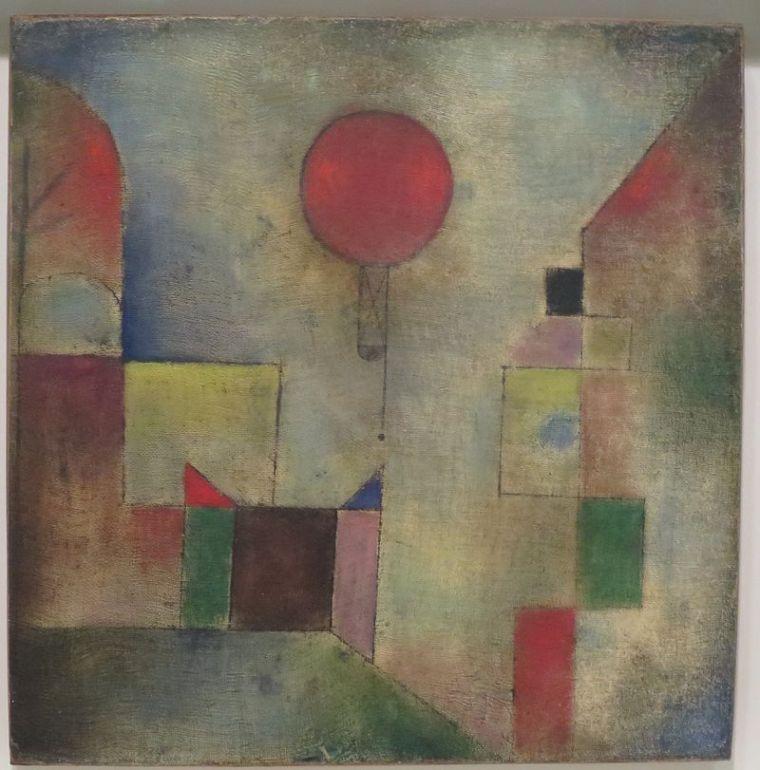 Paul Klee - Red Balloon (1922)