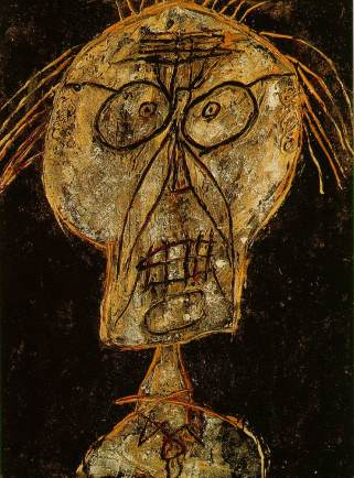 Grand Maître of the Outsider - Dubuffet - 1947